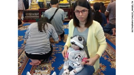 """A Luk Thep doll is treated as a real child by its adopted """"parent"""" and can cost as much as $362."""