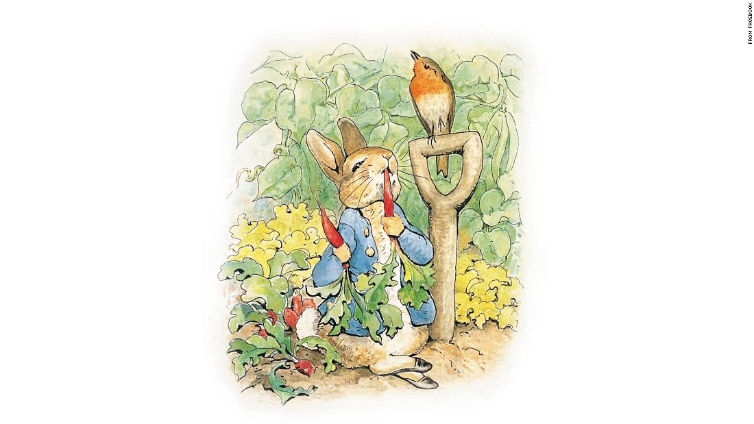 """Peter Rabbit, perhaps Potter's most famous character, makes an appearance in """"Kitty"""" -- although he's much older and """"portlier"""" than depicted here. """"It's a testament to Potter's imagination that she allowed him to grow up,"""" said Jo Hanks, a publisher who discovered the new Potter story."""