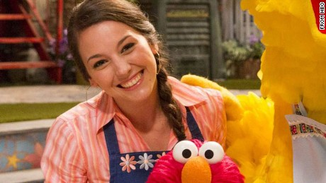 Suki Lopez as Nina on Sesame Street -- HBO