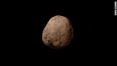 """Potato #345"" by Kevin Abosch, sold for one million euros"