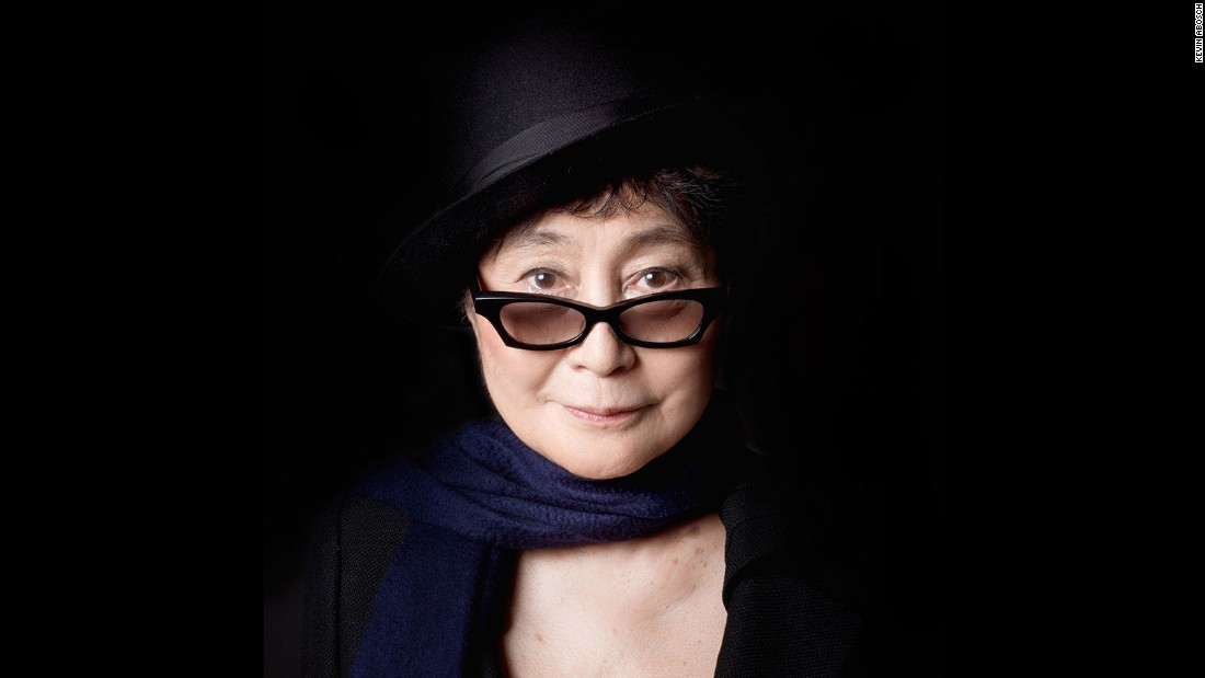 Abosch is known for his images of prominent public figures, such as Japanese artist, singer and peace activist Yoko Ono.