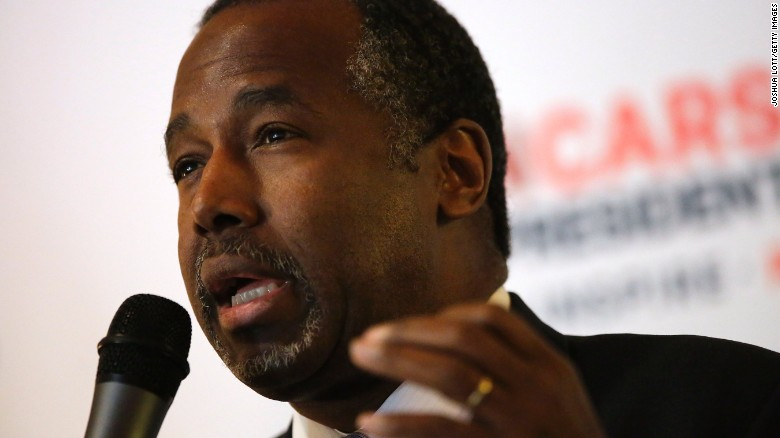 Carson likens GOP debate to ancient Rome