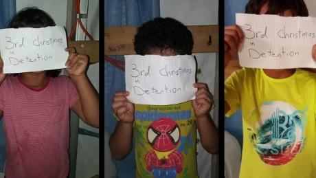 Child refugees detained on Nauru Island talk to CNN