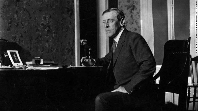 Woodrow Wilson, the 28th President of the United States of America, signed the Organic Act of 1916, creating the National Park Service.