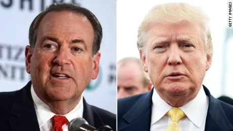 Mike Huckabee 'all in' for Donald Trump