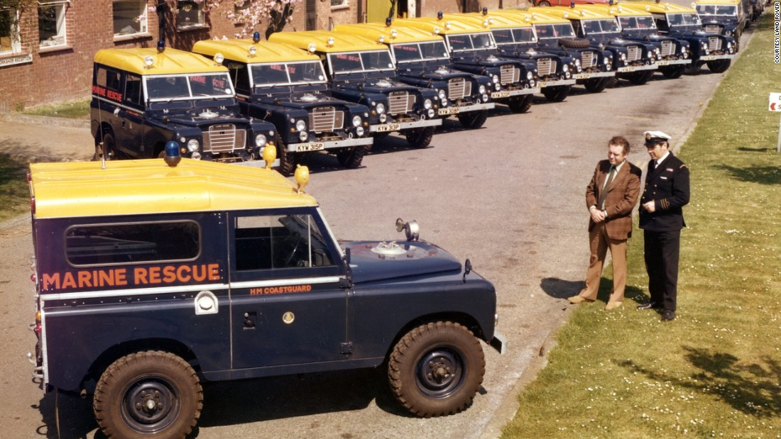 Land Rover sales have always been bolstered by orders from public services.