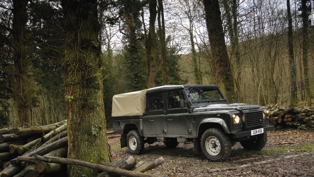 Long-wheelbase versions of the Land Rover can be used to shift goods, or people.