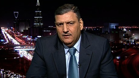 Riyad Hijab, head of the Syrian opposition High Negotiations Committee.