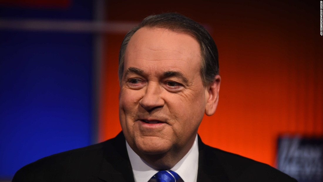 "When Mike Huckabee was asked why he isn't doing better in the polls after winning the Iowa caucus eight years ago, he answered, ""I don't think it's that the message isn't working, I think it's that the message isn't getting out."""