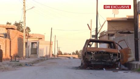 syria al-hawl ghost town ward pkg_00000000