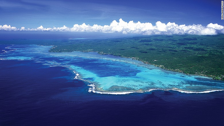 Savai'i is one of Samoa's two main islands.