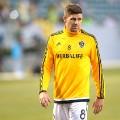 Gerrard Glaxay yellow shirt