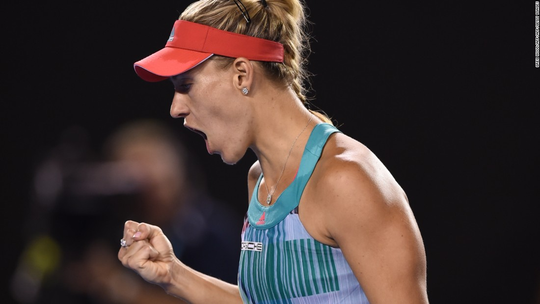 Kerber played the match of her life to bring home a first grand slam title.