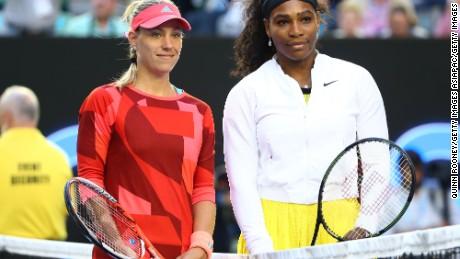 Kerber wins Australian Open
