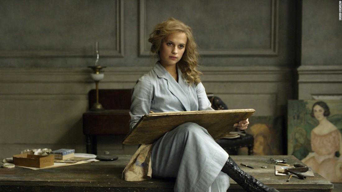 "Alicia Vikander, ""The Danish Girl"""