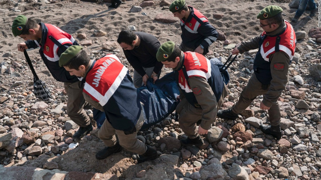 """Deaths on this route are increasing at an alarming rate,"" Joel Millman, a spokesman for the International Organization for Migration, said this month."