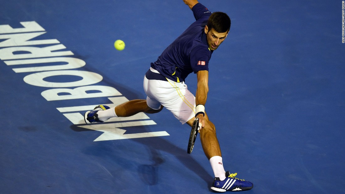 Djokovic continued his relentless performances of late as he raced to a 2-0 in the best-of-five-set final.