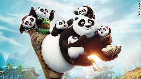 """Kung Fu Panda 3"" brought in an estimated $41 million at the North American box office for its debut this weekend."