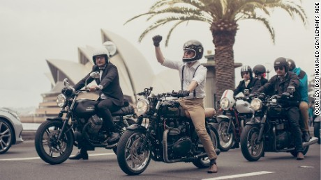 """In 2015, over 37,260 riders in 410 cities from 79 countries raised over $2.3 million (USD) for prostate cancer research -- almost $1 million more than in 2014. Triumph has signed on as a sponsor. Duncan Quinn is already planning for next year: """"I will probably do it on a custom 955cc Triumph triple café racer I have been building for a few years. In a heather green tweed suit."""""""