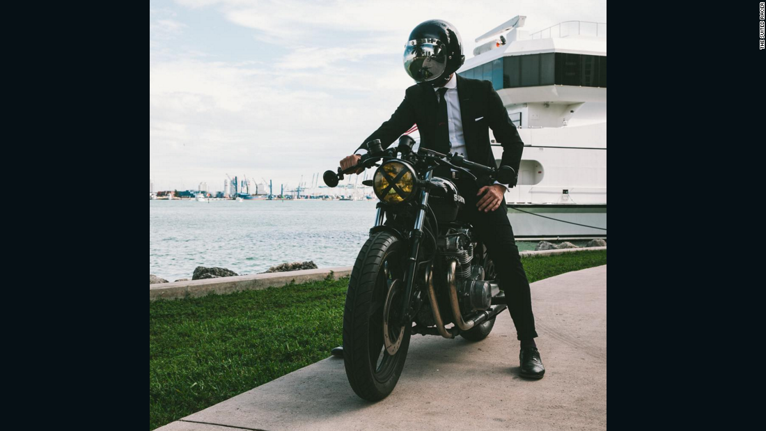 the most stylish bikers in the world cnncom