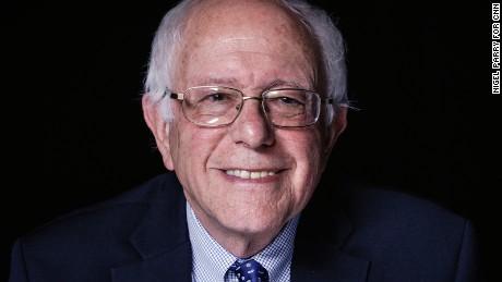 Bernie Sanders in the spotlight
