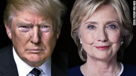 CNN/ORC poll: Trump, Clinton remain on top