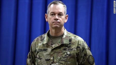 BAGHDAD, IRAQ - Lt. Gen. Sean MacFarland, commander of the US-led coalition in Iraq.