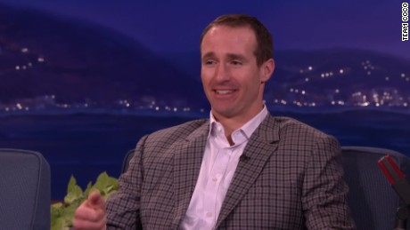 CONAN Drew Brees gator dinner_00004129.jpg