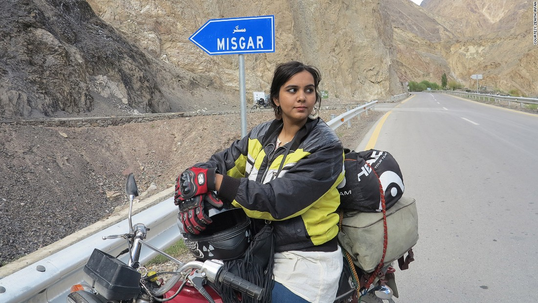 After Zenith Irfan's father died, she decided to fulfill his dream to tour the world on a motorbike. The journey was a huge step for a Pakistani girl in a country where it's sometimes taboo for women to venture out alone.