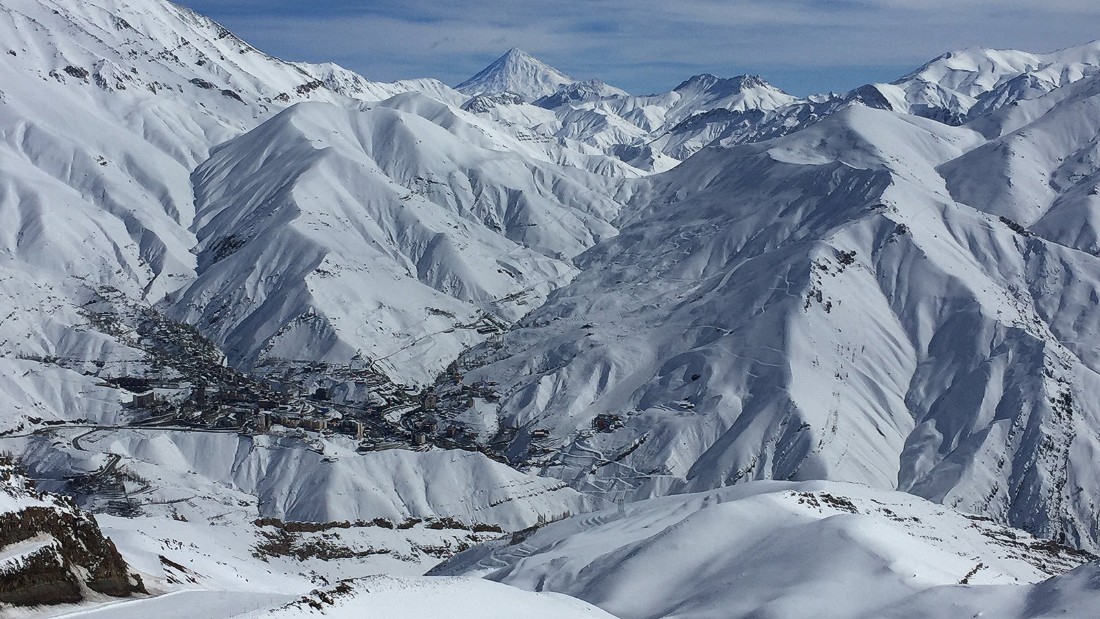 The Alborz Mountains, north of Tehran, have the snow, ice and 3,600-meter peaks to rival other world-class winter sports destinations.