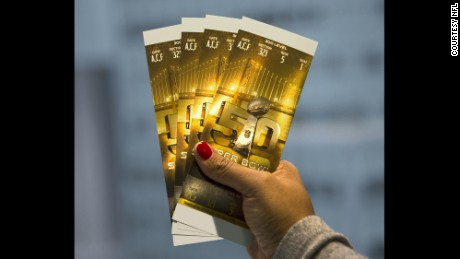 Super Bowl ticket 50.