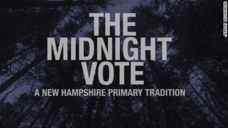 New Hampshire Midnight Vote