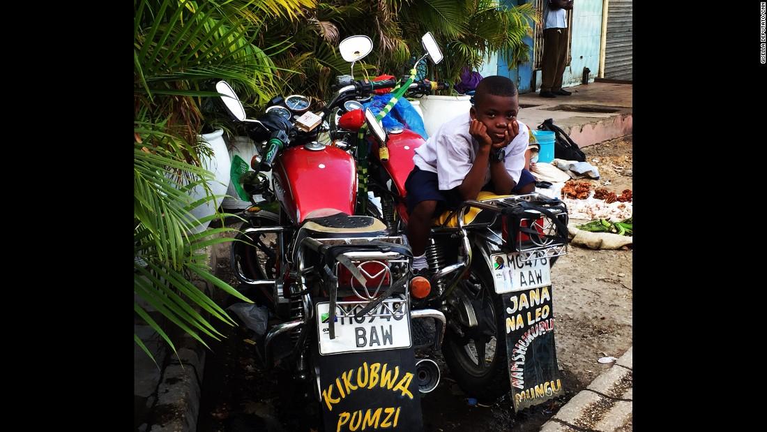 "TANZANIA: A curious onlooker at Kariakoo market in Dar es Salaam. Photo by CNN's Gisella Deputato <a href=""http://instagram.com/gisellacnn"" target=""_blank"">@gisellacnn</a>."