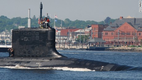 The Virginia-class attack submarine USS New Hampshire (SSN 778) is the third U.S. Navy vessel to sail under that name.