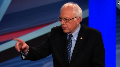 Bernie Sanders: I respect Hillary Clinton, but ...
