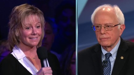 nh democratic town hall Bernie Sanders terrorism boston bombing 04_00000601