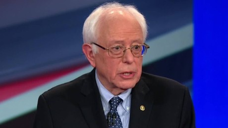 nh democratic town hall Bernie Sanders recovery service drugs 08_00003024