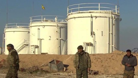 Inside a Syrian oil field once held by ISIS