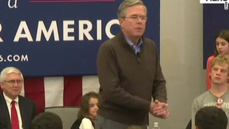jeb bush audience please clap new hampshire sot_00002230
