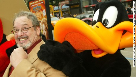 "LOS ANGELES - NOVEMBER 9:  Cartoon voice actor Joe Alaskey arrives at the premiere of ""Looney Tunes: Back in Action"" at the Chinese Theater on November 9, 2003 in Los Angeles, California.  (Photo by Kevin Winter/Getty Images)"