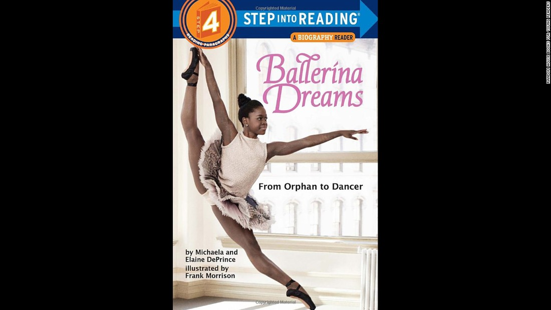 """Ballerina Dreams: From Orphan to Dancer"" is the true story of Michaela DePrince's journey from Sierra Leone to a career as a dancer in the United States."