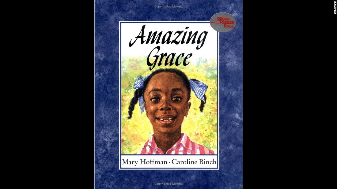 """Amazing Grace"" by Mary Hoffman tells the story of a girl who wants to star as Peter Pan in the school play."