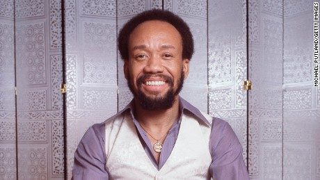 Maurice White of Earth Wind And Fire, studio portrait, 1978. (Photo by Michael Putland/Getty Images)