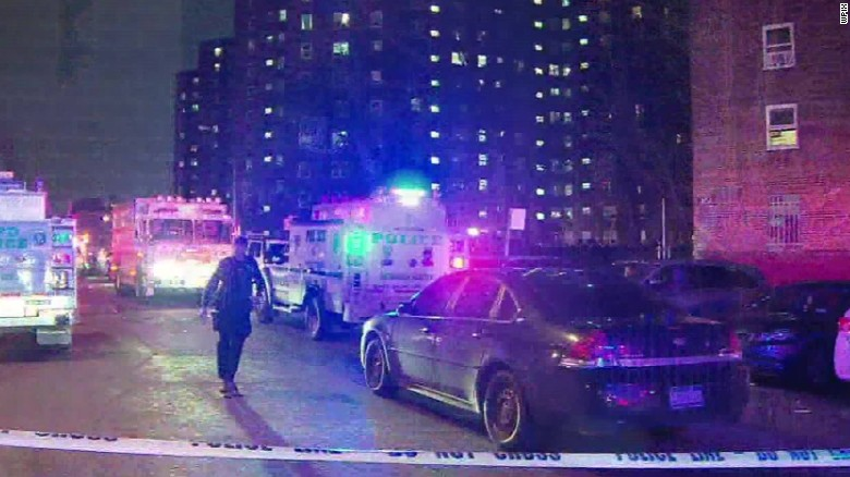 Two NYPD officers shot in Bronx apartment stairwell