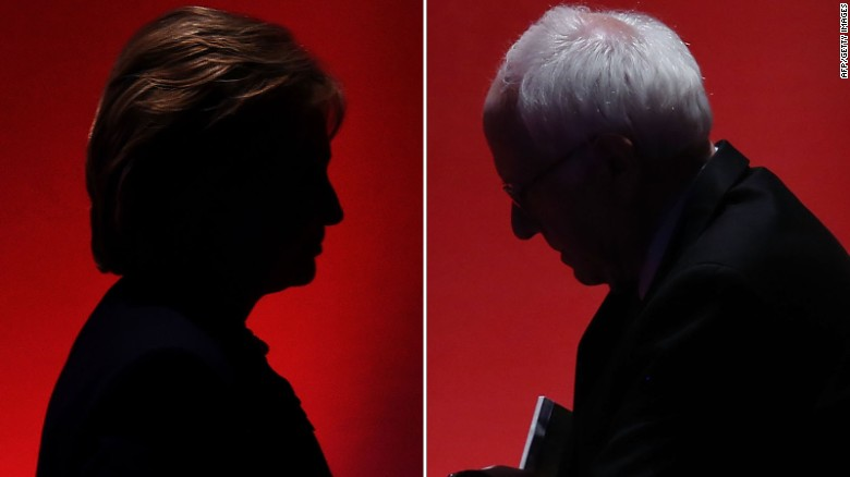 Fight between Clinton and Sanders growing more intense