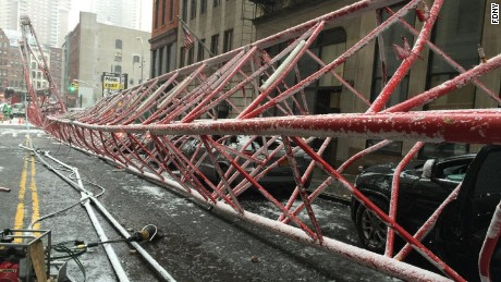 NYC: Crane Collapse
