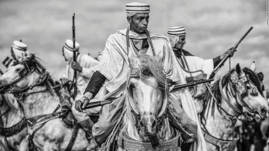Fearsome beauty of 'Fantasia': Ancient martial art on horseback
