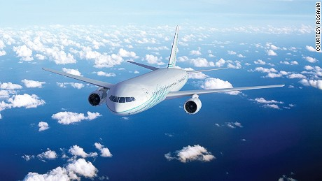 The plane with have a three-class layout: Business, Premium Economy and Economy.