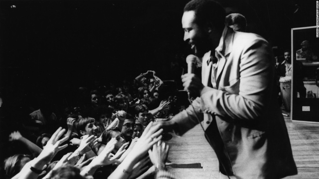 """<strong>Marvin Gaye</strong> (1939-1984) should be on this list just for """"Let's Get It On,"""" his classic 1973 ballad of seduction. But Gaye's soulful voice also gave us the tortured-love classic """"I Heard it Through the Grapevine"""" and the erotic """"Sexual Healing."""""""