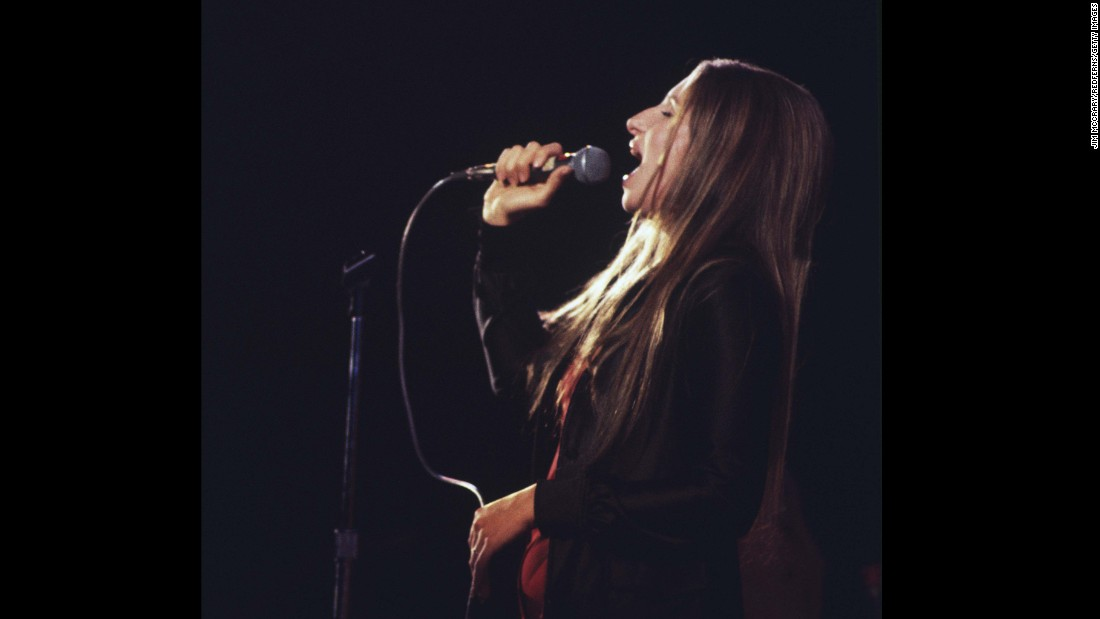 """The multitalented <strong>Barbra Streisand</strong> has had huge success as a singer, an actress and a filmmaker. In the 1970s she had a string of big,  unabashedly sappy hits (many from her movies), including """"The Way We Were,"""" """"Evergreen (Love Theme From 'A Star is Born')"""" and """"You Don't Bring Me Flowers,"""" her duet with Neil Diamond."""